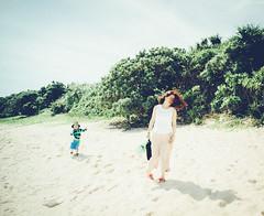 @Miyako #6 (usk9999) Tags: family boy kid child cute japan people trip outdoor landscape shore seaside beach coast sand wife