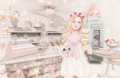 Sweets For The Sweet (Gaby Marshdevil ~ BUSY IRL) Tags: food cute sweet sl secondlife altair halfdeer catwa pinkacid kawaiiproject enfersombre