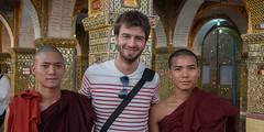 Mandalay (-Nonolimite-) Tags: world voyage trip travel asia burma faith religion monk buddhism foi myanmar asie population monde mandalay discover birmanie moine boudhisme