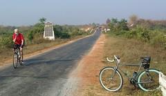 Myanmar, Bago Region, Bago Township, Thar Yar Kone Village Tract (Die Welt, wie ich sie vorfand) Tags: bicycle cycling burma smoking myanmar steamroller surly bago sepeda bagotownship bagoregion tharyarkone