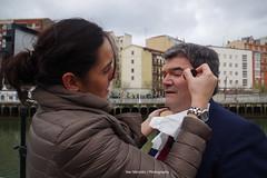 Tatiana Making Up (Iker Merodio | Photography) Tags: party make up juan pentax country bilbao mari national bizkaia basque tatiana muoz biscay k50 aburto eaj makillatu