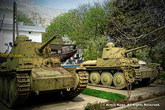 Old Iranian Military Tanks (Armin Hage) Tags: iran tehran saadabad  militarymuseum vickerstank arminhage militarymuseumofiran