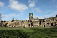 Kirkstall Abbey (Explored Apr 15 2015 #397) (robdphotographer) Tags: uk building abbey architecture canon landscape ruins outdoor yorkshire leeds hills photoblog monastery ilkley riveraire yorkshiredales ilkleymoor kirkstallabbey ancientruins landscapephotography canon500d canonphotography leedswestyorkshire eoskissx3 eosrebelt1i uklandmarks follow4follow like4like robdphotographer