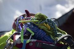 Ready to go (begumidast) Tags: color canon eos schweiz switzerland day suisse outdoor equipment climbing svizzera soe ef klettern karabiner ausrüstung ef70300mm ef70300 eflens canoneos5dmarkiii begumidast 5dmarkiii ef70300mmf456lisusm canonef70300mmf456lisusm musictomyeyeslevel1