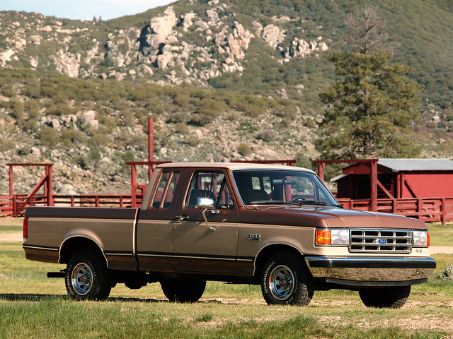 ford pickup f150 supercab 1987–1991