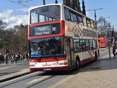 678 - SN04 ACU (Cammies Transport Photography) Tags: road street bus buses volvo coach edinburgh president kings princes 19 lothian acu 678 plaxton sn04 sn04acu