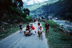 In the Himalayan Foothills of Nepal (Vern Krutein) Tags: nepal friends people sports boys childhood youth children asian fun person hands asia child play little smiles human nepalese activity youngster humanbeing active playgrounds ninos childrenplaying himalayanfoothills plpv08p0514