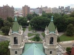 View from top of Dome