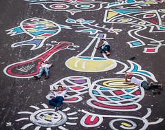 Boishakh Alpona 4 (C.C.Kubi) Tags: road street family streetart art festival night canon painting festive fun friend asia outdoor collection celebration dhaka bangladesh streetpainting diu 14april 2015 cck pohela বাংলাদেশ alpona boishakh banglanewyear banglanoboborsho পহেলাবৈশাখ বাংলানববর্ষ pohelaboishakh1422 daffodiluniversity cckubi cckthestranger boishakhparbone