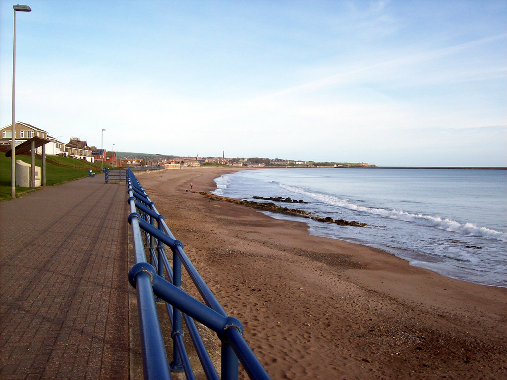 SPITTAL BEACH SOUTH OF BERWICK UPON TWEED