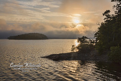 Lake Ouachita Arkansa Sunrise