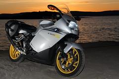 2008 BMW K 1200 S (OleRog) Tags: sunset canon mc bmw motorcycle sunrisesunset nesodden k1200s ef2470f28l alvrn 5dmkiii