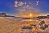 Sunset in Redruth (Muzammil (Moz)) Tags: sunset beach cornwall fisheyelens portreath newquey afraaz muzammilhussain mozhaps canon815mm canon5dmark3 mozhapsyahoocouk redruthbeach
