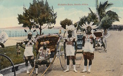 Classic Postcards (scuba_dooba) Tags: africa family history classic boys vintage photo album postcard south collection card postcards historical rickshaw 1920 ricksha