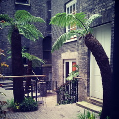 the keeper's house (valeriadalua) Tags: uk tree london garden palms bricks piccadilly royalacademy keepershouse