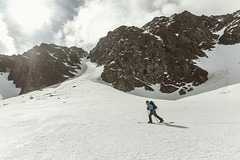 Buddy. (rawmeyn | Filmmaker & Photographer) Tags: austria spring hiking touring steiermark styria gh2 splitboarding hochreichart