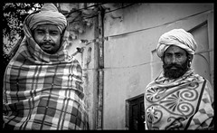 FRIENDLY FACES (Dr Anirban Ray) Tags: portrait people india white lake black monochrome photography best photograph temples and pushkar incredible rajasthan sadhu pushkarrajasthan decembe2014pushkar