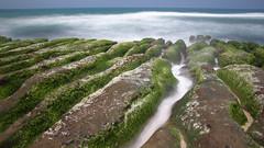 老梅綠石槽 (胚卓's photography) Tags: nd 海岸 風景 cpl 東北角 haida 老梅 浪花 海大 減光鏡 老梅綠石槽