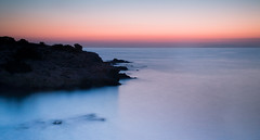 Antiparos, Greece (sosico) Tags: sunset sea sky mountains landscape rocks greece greekislands antiparos nelsonsosa