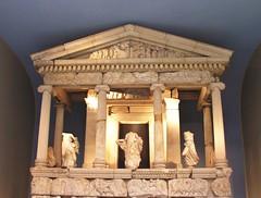 Nereid Monument (jere7my) Tags: greatbritain vacation england sculpture london museum temple unitedkingdom tomb britishmuseum 2014 nereidmonument arbinas