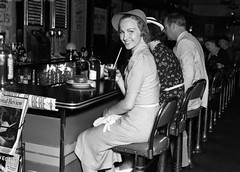 42-32401942 (Gibby Goulard) Tags: people food male men water fountain hat smiling fashion female vintage menu outfit clothing holding women sitting dress counter adult cola linen five softness group beverage happiness retro indoors nostalgia few crisp customer cloth youngadult groupofpeople dressed stylish oldfashioned softdrink oldtime headgear drinkingglass facialexpression drinkingstraw 20sadult youngadultwoman smallgroupofpeople 1819years lookingatcamera 1940sstyle healthylifestyle fivepeople 2024years incidentalpeople