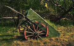 The Broken Cart... (Andy Milner) Tags: abandoned broken decay cart hdr urbex