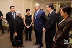 Menziarah Toh Puan Lim Cheng Neo,Balu kepada Tun Tan Siew Sin.12/5/16.Xiao En Centre.KL.