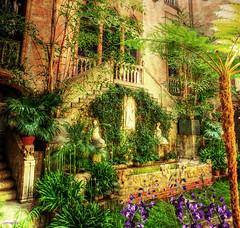 ..my heart in a garden.. (xandram) Tags: boston photoshop isabellastewartgardnermuseum texturesmyown tt134