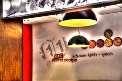 fast food (fernando butcher) Tags: light food chicken lens nikon fast kfc nikkor dslr hdr 18140 httpswwwflickrcomgroupsphotosamateursdumonde
