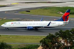 Delta Air Lines, Boeing ,737-932/ER, Boeing, 737-900 ,(BBJ3), San Juan ,Luis Munoz Marin International,Isla Verde, ,SJU ,TJSJ, Puerto Rico, May ,15, 2016 Reg: ,N826DN (Hector Rivera - Puerto Rico Spotter) Tags: puertorico may 15 sanjuan boeing islaverde sju deltaairlines 737900 tjsj bbj3 luismunozmarininternational 737932er n826dn 2016reg