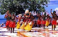 Moorea, Aloha Oe (gerardeder) Tags: world travel french polynesia dance pacific south folklore tanz reise moorea sdsee