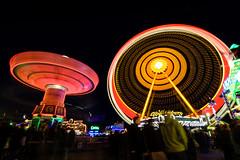 "Spinning Color Range (""louisheublein"") Tags: blue light red party color rot colors wheel yellow festival night dark lights licht spectrum nacht rad gelb nighttime spinning blau range fare dunkel lichter farben drehen"