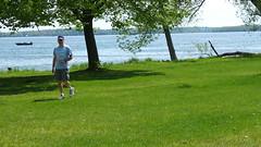 (sfrikken) Tags: park lake dave place madison croquet monona yahara