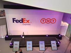 FedEx TNT launch, Amsterdam