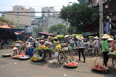 Street market (Bex.Walton) Tags: travel market streetscene vietnam hanoi oldquarter