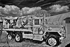 US Army Truck (AL904) Tags: truck military greencovesprings 830nm infrared army florida unitedstates us
