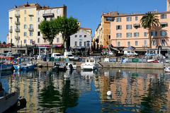 On the Waterfront (Sandra Leidholdt) Tags: city reflection building water skyline architecture marina french boats island harbor boat mediterranean waterfront corsica ajaccio westcoast watercraft corsedusud frenchisland portcity sandraleidholdt ajacciu