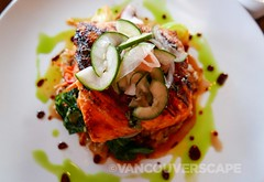 Sockeye salmon, 5 Spice Seafood and Wine Bar (Vancouverscape.com) Tags: travel usa oregon mthood 2016 arianecolenbrander vancouverscape