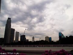 clouds (Squall EC) Tags: river hotel bay flyer singapore esplanade mbs marinabay raffleshotel singaporeflyer marinabaysands
