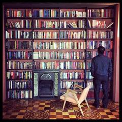 Rooms' Books (Warriorwriter) Tags: tbilisi georgia ge roomshotel bookshelf library design interior iphone5s patterns grain reading