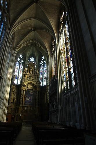 France, Rouen, Cathédrale Notre Dame