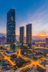 IMG_7608 (phuong0304p) Tags: longexposure blue sunset sunrise cityscape cloudy hour bluehour hanoi cityskyline keangnam hanoiskyline