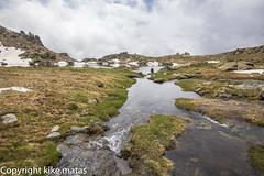 Estany Esbalat, Principat d'Andorra (kike.matas) Tags: canoneos6d kikematas canonef1635f28liiusm estanyesbalat ordino andorra andorre principatdandorra pirineos paisaje agua montaas lago nieve nubes nature canon lightroom4