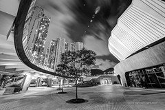 Velodrome (Dan Marchant) Tags: china nightphotography architecture night photography hongkong asia places oriental orient locations newterritories continents destinations architecturalphotography hanghau timeevent hongkongvelodrome hongkongvelodromepark