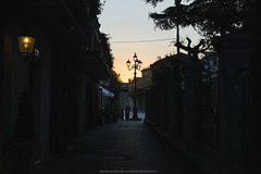 coincidences (Immacolata Melillo Photography) Tags: loneliness alone man sunset road alley santagata de goti benevento italy italia low key dark