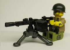 M56D Sentry Smart Gun (enigmabadger) Tags: brickarms lego custom minifig minifigure fig weapon weapons accessory accessories combat war aliens colonial marine film movie scifi sciencefiction james cameron alien xenomorph
