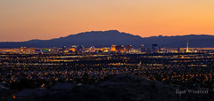 Vegas Comes Alive (East Western) Tags: las vegas sunset usa mountains west spring south nevada strip luxor casinos stratosphere the 2016
