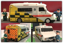 The Changing Face of the LAS (The Stig 2009) Tags: thestig2009 thestig stig 2009 2016 tony o tonyo las londonambulanceservice retirement cake ambulance 999 medical twin brother paramedic crew