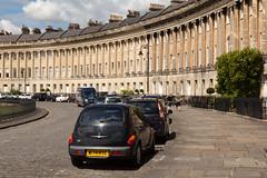 Royal Crescent | Bath-13 (Paul Dykes) Tags: bath somerset uk england georgian johnwoodtheyounger horn column 18thcentury eighteenthcentury gradeilistedbuilding