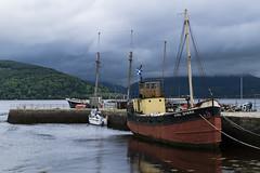 Embarcadère sur le Loch Fyne, à Inveraray
